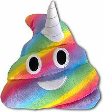 Haufi Emoji Poop Kissen Einhorn Unicorn -
