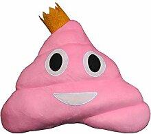 Haufi® Emoji Poop Kissen - Kopfkissen in