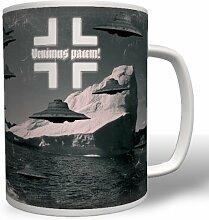 Haunebu Antarktis Ufo Flugscheibe - Tasse Becher Kaffee #4736