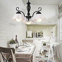 Hauptbeleuchtung Östlichen Mittelmeer Europäische minimalistischen Kronleuchter stimmungsvolles Wohnzimmer warme Schlafzimmer Licht Lampe Durchmesser koreanisches Restaurant 200/750/950, 300 mm, 3 Leiter