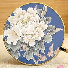 Hauptdekoration , Klassische Runde Fan Chinesische Stil Palace Fan Retro Handwerk Bambus Handle Show Fans Prozess Dekoration