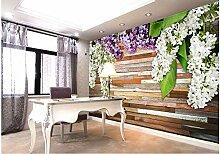 Hauptdekoration Lila Holzschnitzereien Badezimmer