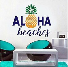 Hauptdekoration Wandaufkleber Aloha Beach