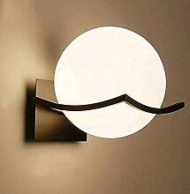 Hauptdekorationslampe Nordic Schmiedeeisen Glas