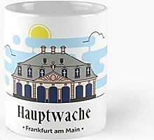 Hauptwache In Frankfurt Am Main Classic Mug   Best