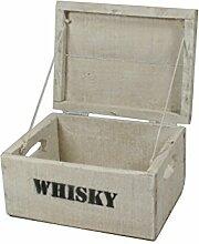 haus-garten-versand Whisky Holzkiste, Mini