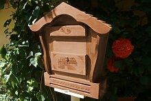 Haus Holz-Briefkasten, Briefkasten