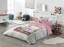 Haus Kreative Celia mit Kopfkissenbezug Dekokissen Bett mit 105 cm Breite bun