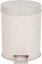 Haus & Küche Fußbetriebene Mülleimer Große Haushalt Gesundheit Fässer Schlafzimmer Küche Wohnzimmer Badezimmer Kreative Lagerung Fass ( Farbe : D )