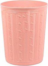 Haus & Küche Mülleimer Küche Kreative Badezimmer Gesundheit Fässer Kunststoff Abfalleimer Abdeckung Mülleimer Wohnzimmer Lager Fass