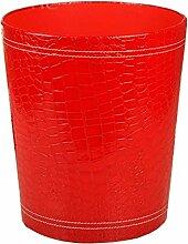 Haus & Küche Nein Abdeckung Typ Mülleimer Gitter Muster Abfalleimer Küche Wohnzimmer Badezimmer Lagerung Fass Druck Ring ( Farbe : E )