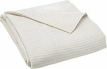 Haus Textil Tagesdecke 120, Polyester, beige,