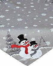 Haus und Deko Mitteldecke Weihnachten Stickerei