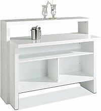 Hausbar Bar Minibar | Dekor | Weiß Hochglanz | B