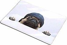 Hause Fußmatten, Flanell Rechteck Hund