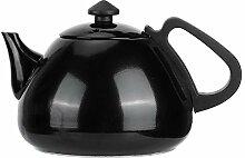 Haushalt 1L Schwarz Edelstahl Teekanne Tee Kaffee