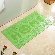 Haushalt Bad Sanitär Saugkissen,Wasser Saugnapf Matte,King Size PVC Dusche Badezimmer Matte-D 39x79cm(15x31inch)