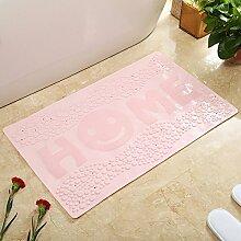 Haushalt Bad Sanitär Saugkissen,Wasser Saugnapf Matte,King Size PVC Dusche Badezimmer Matte-B 39x79cm(15x31inch)