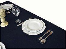 Haushalt einfarbig Baumwolle Couchtisch Tischdecke