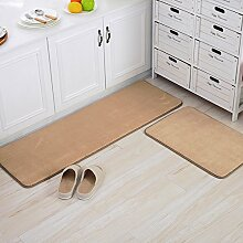 Haushalt Fußmatten/Fußmatte/Wohnzimmer Schlafzimmer Küche Bar Matte/Float Fenster Bett Badematte-C 40x60cm(16x24inch)