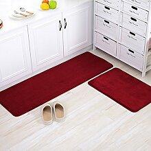 Haushalt Fußmatten/Fußmatte/Wohnzimmer Schlafzimmer Küche Bar Matte/Float Fenster Bett Badematte-E 40x100cm(16x39inch)