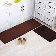 Haushalt Fußmatten/Fußmatte/Wohnzimmer Schlafzimmer Küche Bar Matte/Float Fenster Bett Badematte-F 60x100cm(24x39inch)