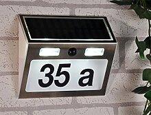 Haushalt International Solar Hausnummer mit