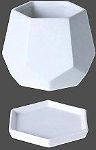 Haushalt Keramik Blumentopf Einfache Diamant