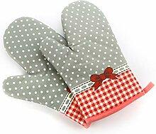 Haushalt Mikrowelle Handschuhe Verdickte