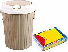 Haushalt Mülleimer, Bad Papierkorb Mit Abdeckung