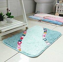 Haushalt Teppiche Badematten Türmatten Prinzessin Schlafzimmer-Bett-Zimmer Fußmatte , 50*80cm