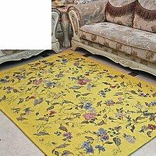 Haushalt Tür Decke/Europäische Garten frische Equilibrium/Schlafzimmer Bett Höhle-F 140x200cm(55x79inch)