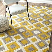 Haushalt Tür Decke/European-Style Schlafzimmer Nachttisch Teppiche und American-Style Sofakissen-C 120x170cm(47x67inch)