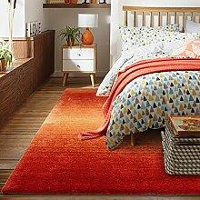 Haushalt Tür Decke/Moderne minimalistische Schlafzimmer rechteckige Bettvorleger-C 80x150cm(31x59inch)