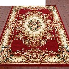 Haushalt Tür Decke/Schlafzimmer Nachttisch Matten/Europäisch anmutenden modernen minimalistischen Felder skid Teppich vor der Tür-D 160x230cm(63x91inch)