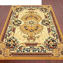 Haushalt Tür Decke/Schlafzimmer Nachttisch Matten/Europäisch anmutenden modernen minimalistischen Felder skid Teppich vor der Tür-B 80x150cm(31x59inch)