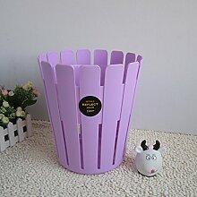 Haushalt Unbestrittene Plastik Mülleimer ( Farbe