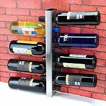 Haushaltsgegenstände Weinflaschenhalter Metall