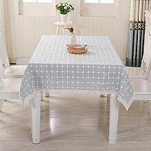 Haushaltsgewebe Tisch Tischdecke Plaid Baumwolle