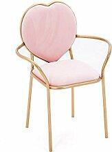Haushaltssessel Nordic Gold Fluff Stoff Sessel