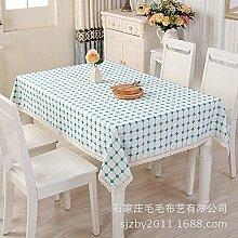 Haushaltsstoff Tisch Tischdecke Plaid Baumwolle