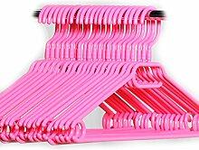 Hauskraft 50 Stück pink Kleiderbügel