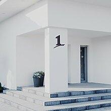 Hausnummer 1 ( 20cm Ziffernhöhe ) in