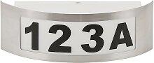 Hausnummer 1xE27/14W/230V