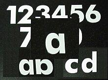 Hausnummer a - HÖHE: 65mm, 3mm dick (KEINE dünne