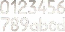 Hausnummer ClearAmbient Zeichen: 4