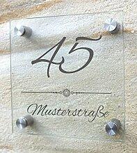 Hausnummer, Hausnummernschild aus besonders