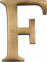 Hausnummer Heritage Brass Farbe: Messing,