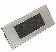 Hausnummer Leuchte - TOOGOO(R)18cm Solar 4LED