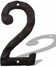 Hausnummern - Spezielles Gusseisen Hausnummer mit